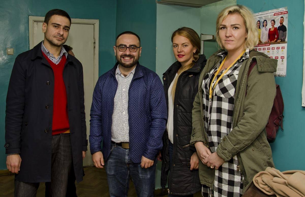 Депутати Київради на заходах Українського товариства сліпих
